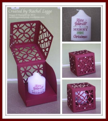 Lattice Candle Box
