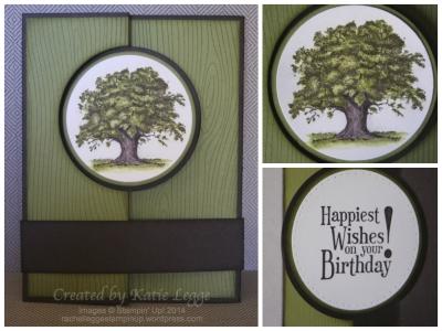Katie Legge Lovely As A Tree Flip Card 1
