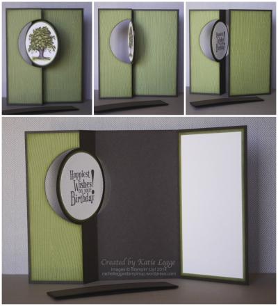 Katie Legge Lovely As A Tree Flip Card 2