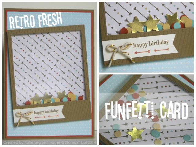 Retro Fresh Funfetti Card by Katie Legge