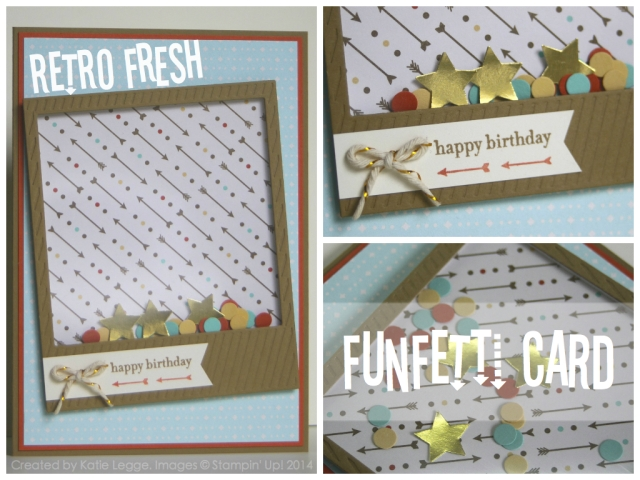 Retro Fresh Funfetti Card by Katie Legge