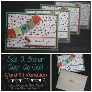 Sale A Bration Good As Gold Cards Katie Legge