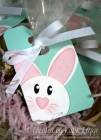 Stampin' Up! Easter Bunny Punch Art Tag Using Chalk Talk Framelits Dies | Created by Katie Legge rachelleggestampinup.wordpress.com #Easter #Bunny #StampinUp #PunchArt