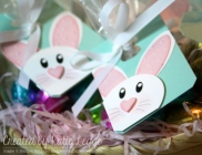 Stampin' Up! Easter Bunny Punch Art Tags | Created by Katie Legge rachelleggestampinup.wordpress.com #Easter #Bunny #StampinUp #PunchArt