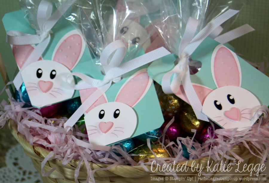 Stampin up easter bunny tags to decorate easter egg treat bags stampin up easter bunny tags to decorate easter egg treat bags created by katie legge rachelleggestampinupwordpress negle Gallery
