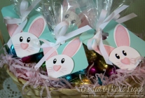 Stampin' Up! Easter Bunny Tags to Decorate Easter Egg Treat Bags Created by Katie Legge rachelleggestampinup.wordpress