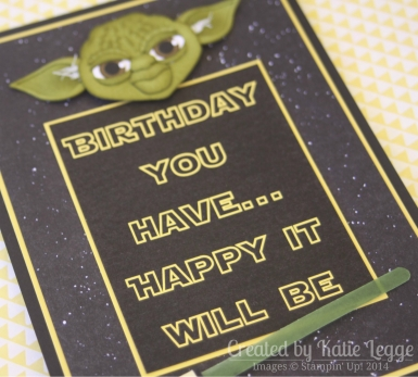 Star Wars Yoda card by Katie Legge, https://rachelleggestampinup.wordpress.com/2014/05/04/may-the-4th-be-with-you/