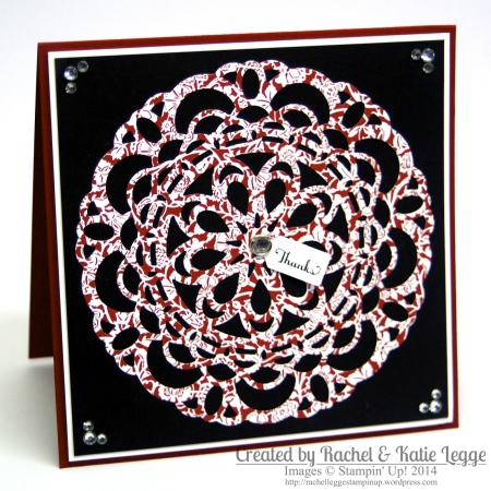Katie Legge Stampin' Up! Paper Doily Card https://rachelleggestampinup.wordpress.com