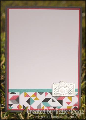 Katie Legge Kaleidoscope On Film Camera Birthday Card Inside