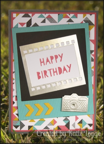 Katie Legge Kaleidoscope On Film Camera Birthday Card