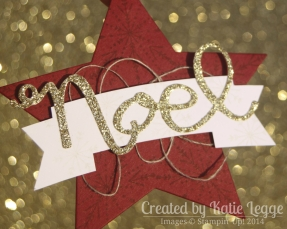 Katie Legge Stampin Up Many Merry Stars Ornament in a Card 6