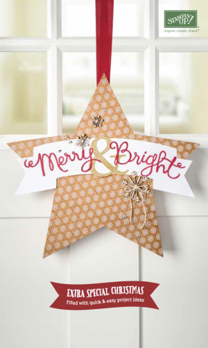 Stampin Up Merry and Bright Extra Special Christmas Supplement