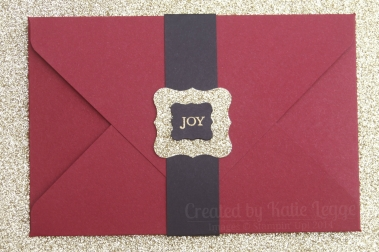 Stampin Up Christmas Gift Certificate - Katie and Rachel Legge